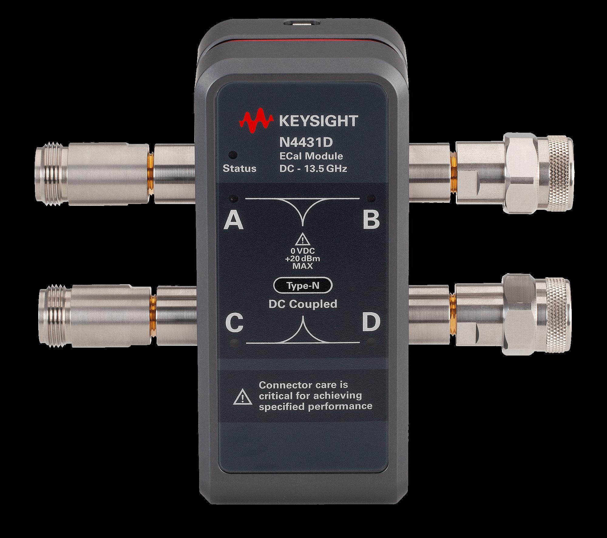 N4431D RF Electronic Calibration Module (ECal), DC to 13.5 GHz, 4-ports |  Keysight