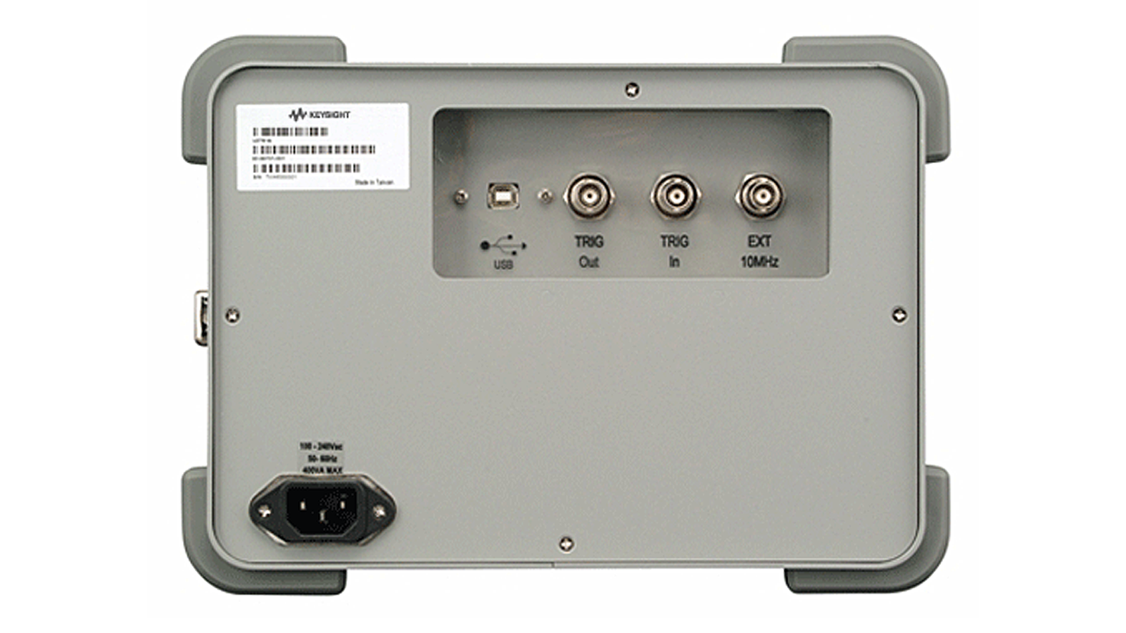 U2781A USB Modular Chassis Front Rear
