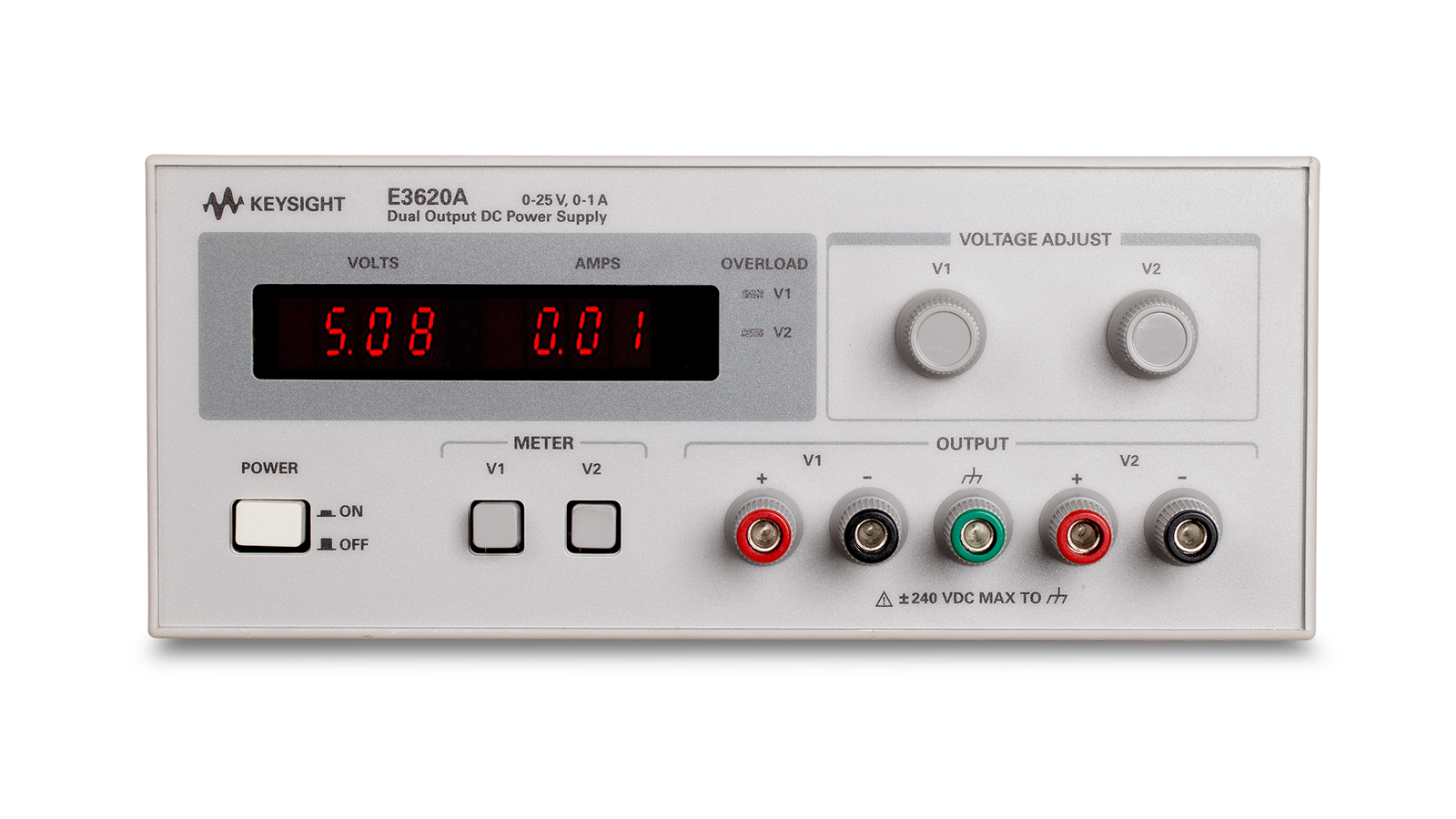 E3620A Series Adjustable Power Supply