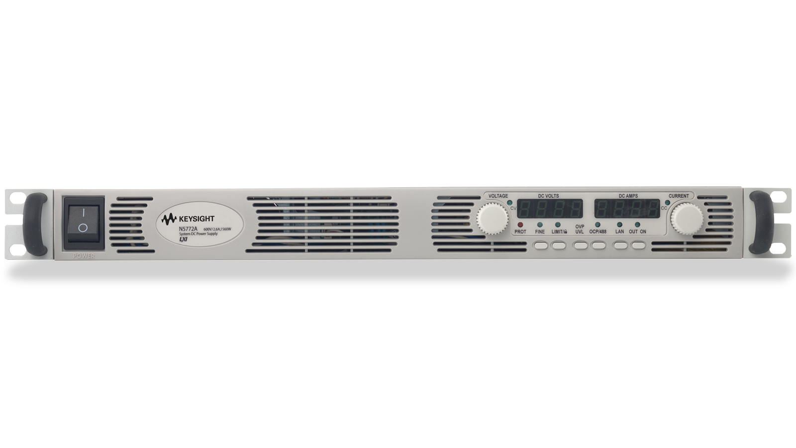 N5700 Series Programmable Supply Front Panel