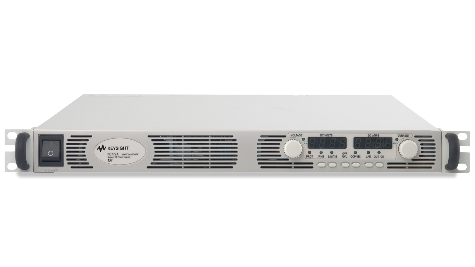 N5700 Series Programmable Supply Front Top