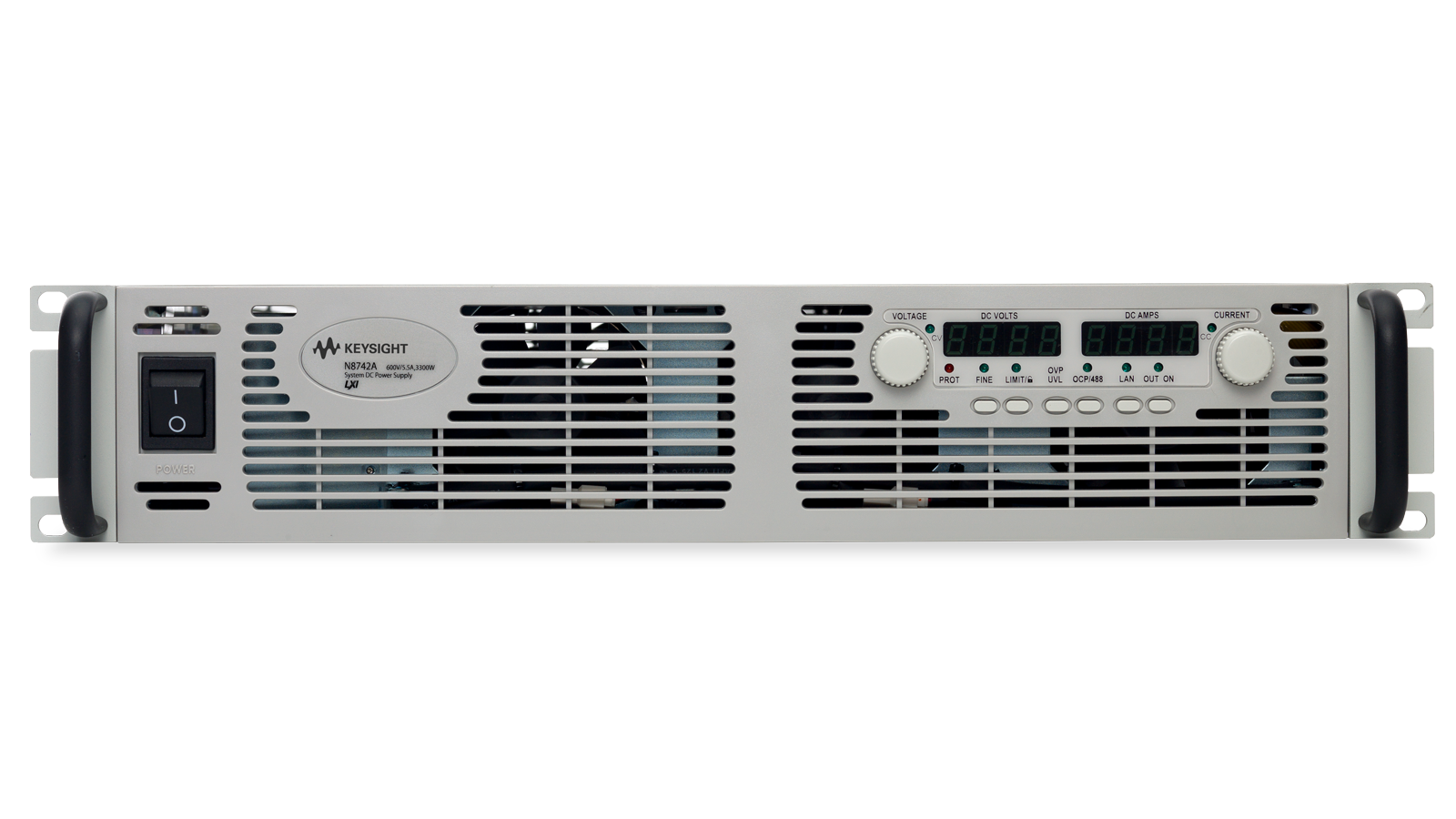 N8700 Series Programmable Supply Front Panel