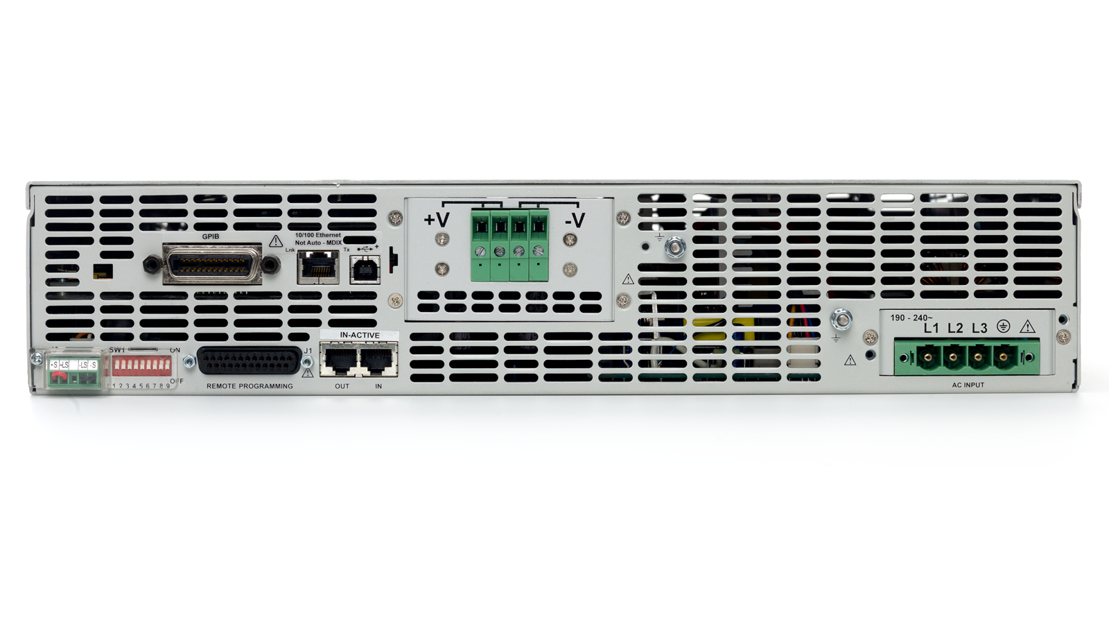 N5700 Series Programmable Supply Back Panel