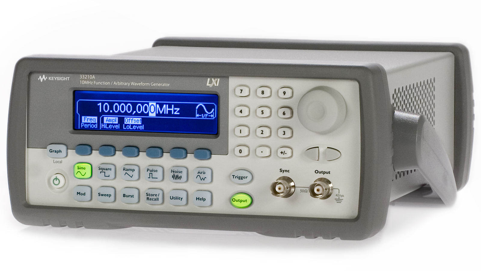 Keysight 32210a - Front Left view