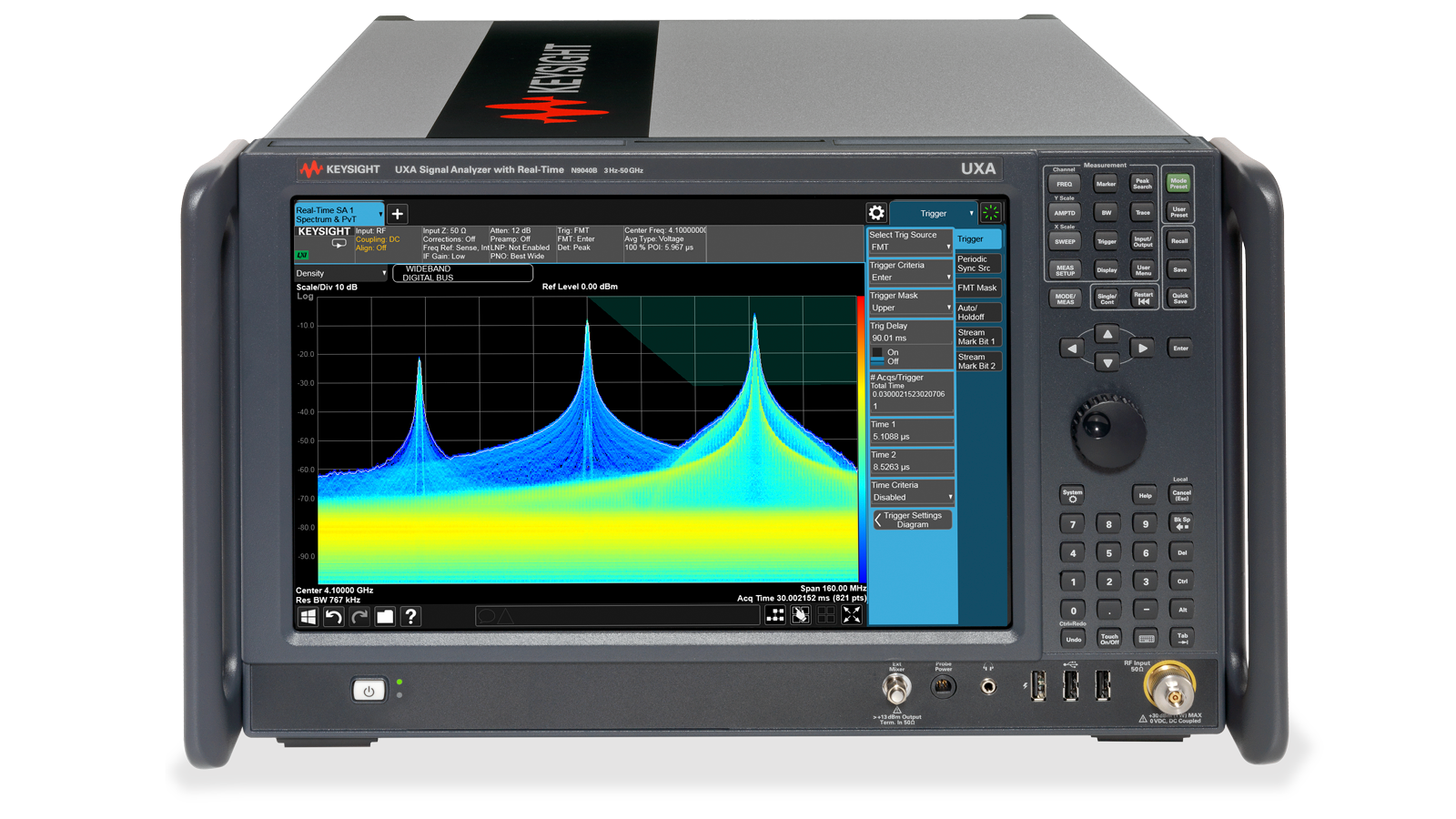 N9040B Signal Analyzer Front-Top Image