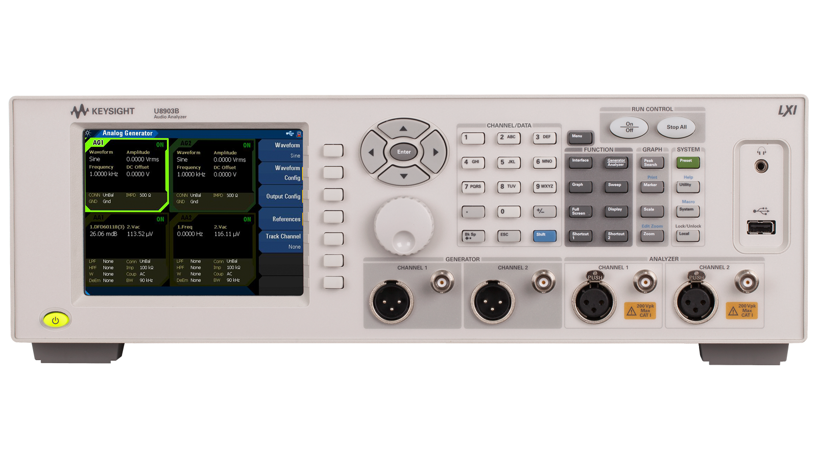 Audio Analyzer Front Image