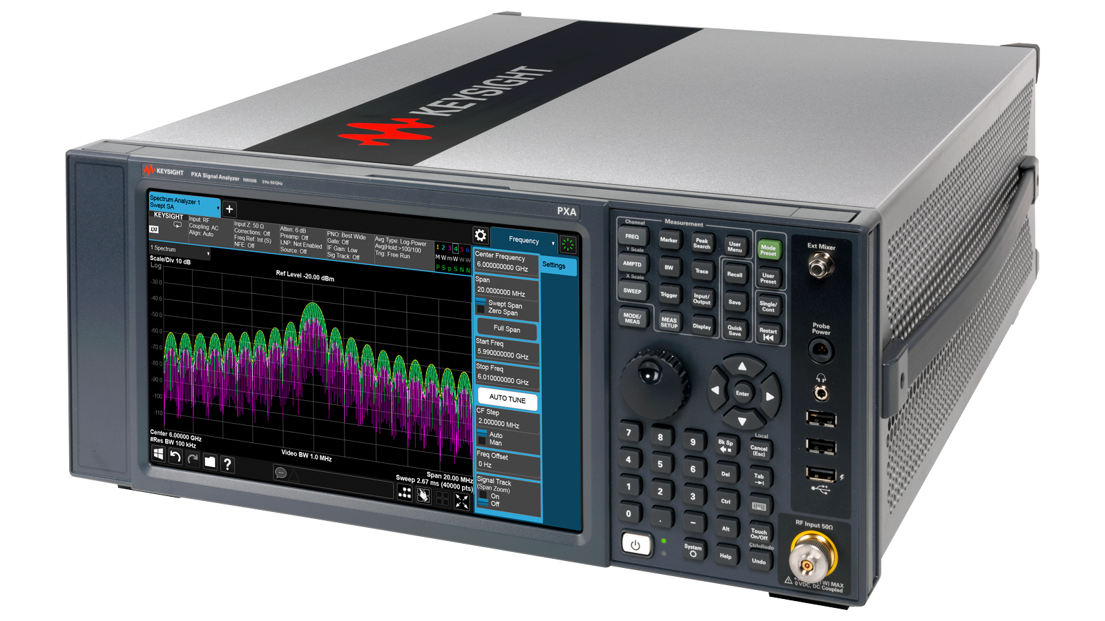 PXA Signal Analyzer Front Left Image
